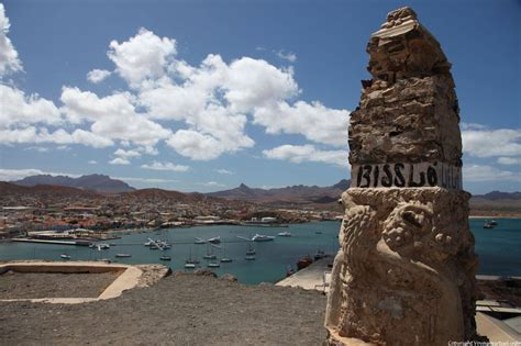 São Vicente, Mindelo, monument to the fort - Cape Verde
