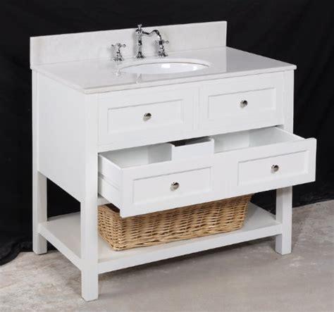 elegant   single sink white bathroom vanity sets