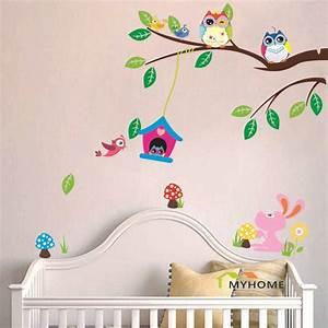 pas cher cartoon animaux amovible bebe enfant With déco chambre bébé pas cher avec acheter un bouquet de fleur