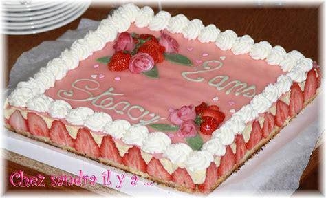 amour de cuisine gateau un fraisier le second gâteau pour les 2 ans de mon bébé