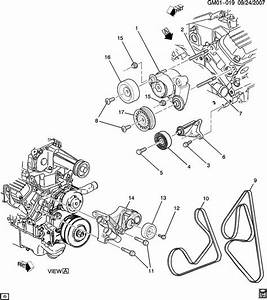 New Genuine Gm 12588414 Drive Belt For 1999