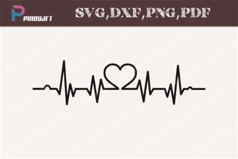 Heartbeat SVG Graphic by Pinoyartkreatib - Creative Fabrica
