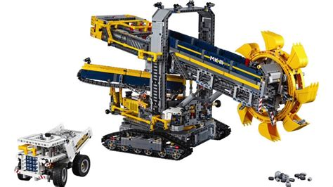 lego technic 42055 lego technic highlights 2hy2016 42053 42054 42055