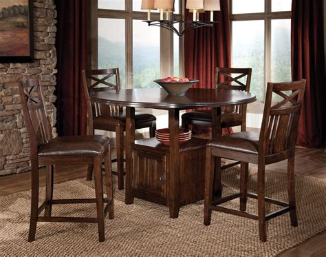Industrial Table Set High Dining Tables Simple Dining Room
