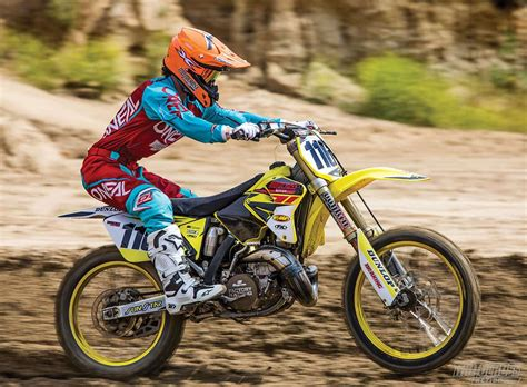 lights out 7 we re ready to race in the world series of mxa s race ready 2006 suzuki rm250 two stroke
