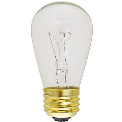 clear  mediume base light bulbs
