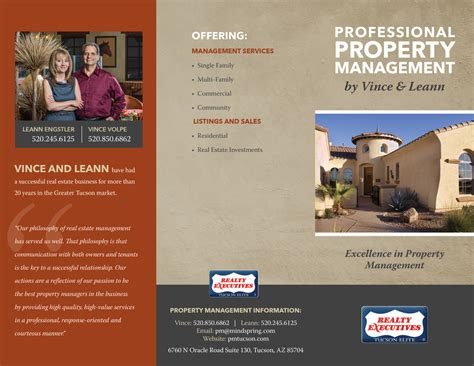 property pamphlet property management brochure mead creative