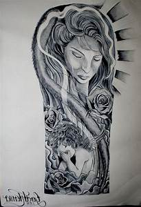 Religious Half Sleeve Tattoo Drawings - Tattoo Ink Design ...