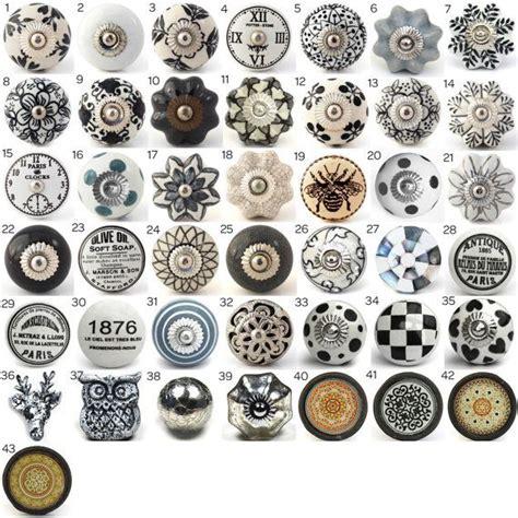 bouton de porte de cuisine vintage boutons en céramique poignées de porte décoratifs