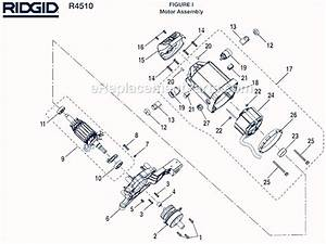 Ridgid R4510 Parts List And Diagram   Ereplacementparts Com