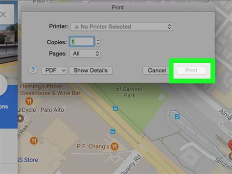 Easy Ways Print Google Maps With Pictures Wikihow