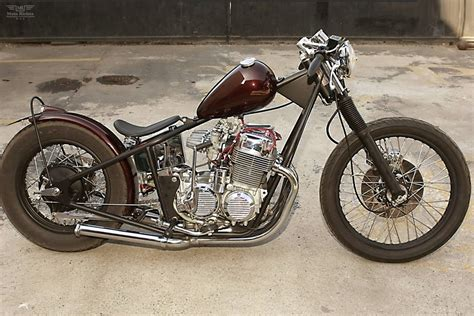 Honda Cb75f The Venice Bobber By Venice Choppers