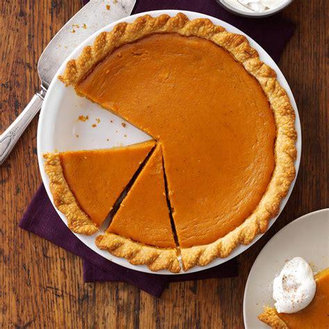 recipe for pumpkin pie maple sugar pumpkin pie recipe taste of home