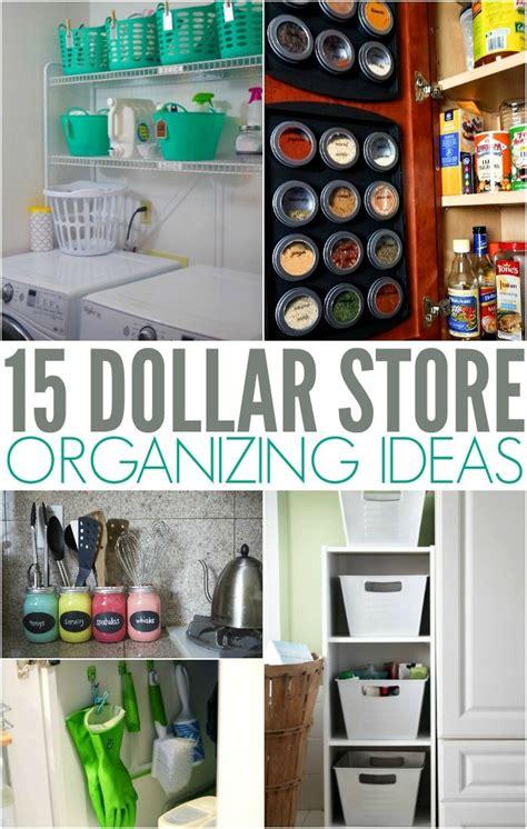 dollar store organizing ideas  simplify  life