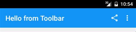 toolbar for android android tips hello toolbar goodbye bar xamarin