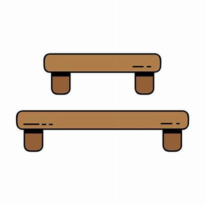 Shelf Table Wood Vector Clipart System Keywords