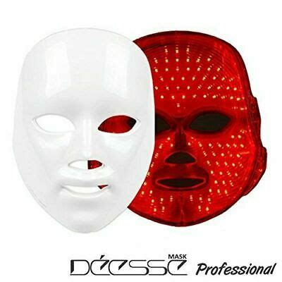 DEESSE LED Facial Mask Home Aesthetic Mask Only Red Color