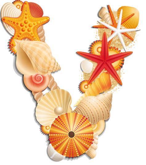clipart letters seashell clipart letters seashell transparent