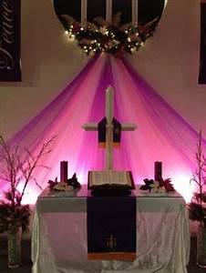 Advent Altar Decorations