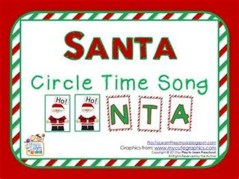 best 25 santa songs ideas on song 478 | 158fa5e1274d284b1afe1eb0987766db preschool songs preschool printables