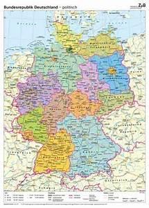 Deutschland Physische Karte : 401 deutschlandkarte physisch politisch ~ Watch28wear.com Haus und Dekorationen