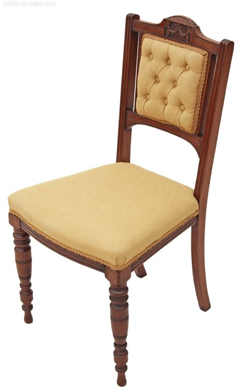 walnut dining chairs set of 4 walnut dining parlour chairs antiques 6459