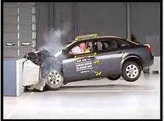 AUDI A4 Crash test YouTube