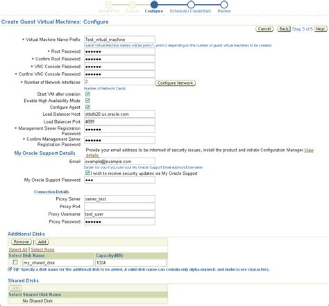 Server Documentation Template by Provisioning Virtualization Systems