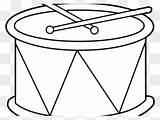 Coloring Bongo Drum Drums Printable sketch template