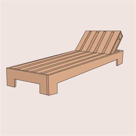Chaise Longue Fabriqué Avec De La Palette De Comment Fabriquer Une Chaise Longue En Palette Ooreka