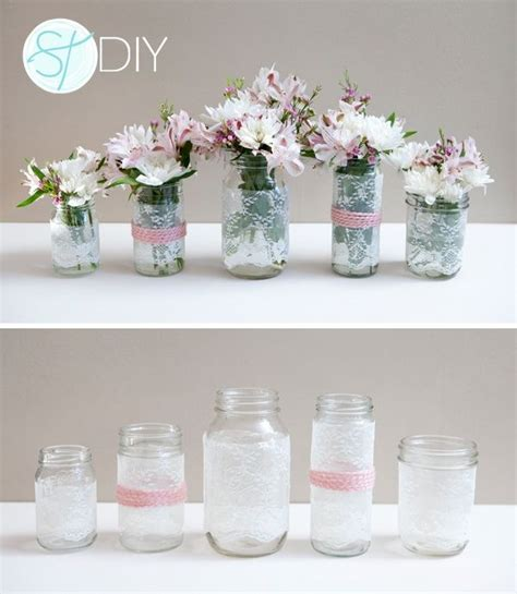 cheap centerpiece ideas  pinterest wedding