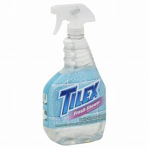 tilex fresh shower daily shower cleaner original trigger spray With tilex bathroom cleaner