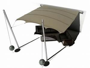 Sonnensegel Mast Selber Bauen : rollbares sonnensegel mit 3d w lbung ~ Lizthompson.info Haus und Dekorationen
