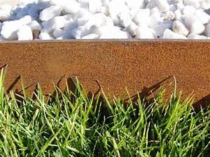 Bordure De Jardin Metal : bordure en acier corten bordure de jardin jardinet ~ Dailycaller-alerts.com Idées de Décoration
