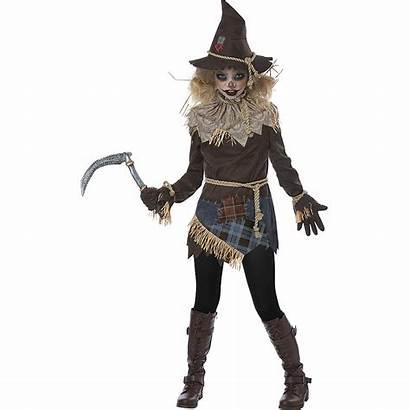 Scarecrow Costume Creepy Scary Halloween Party Costumes