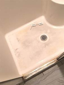 housekeeping how to deep clean a shower chaotically With how to clean stained shower floor