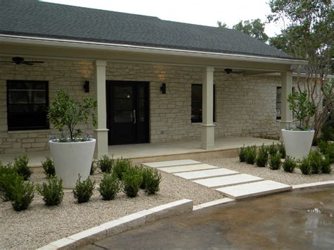 ranch house redo contemporary landscape austin