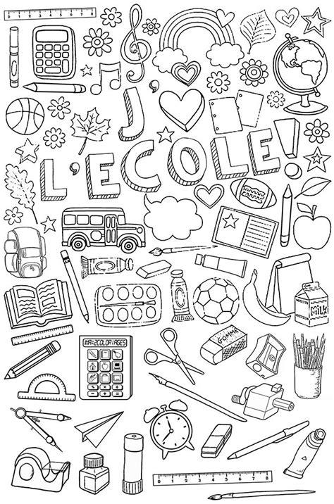jeux de l ecole de cuisine de gratuit affaires d 39 école à colorier crpe colorier