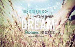 Inspirational Dream Tumblr Quotes   Quote Addicts