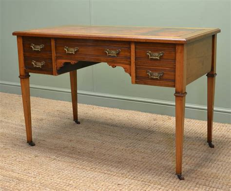 antique writing desk characterful walnut antique desk writing table