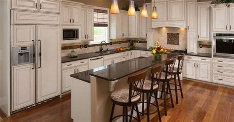 picture of kitchen designs cabinets and wood floor inside the home 4191