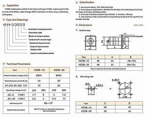 Kombination Schalter Hz5b Serie