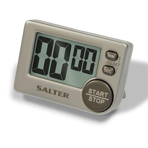 Kitchen Timer by Salter Big Button Digital Kitchen Timer Precise Cooking