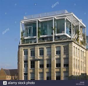 Wohnung London Kaufen : detail des penthouse fassade dach garten wohnung london ~ Watch28wear.com Haus und Dekorationen