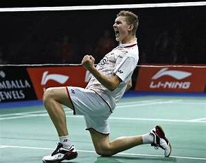 Lin Dan upset by Viktor Axelsen in Denmark Open quarters ...