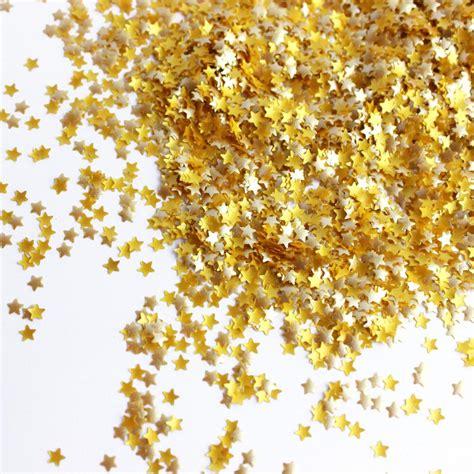 Gold Glitter Stars - Sprinkle Pop