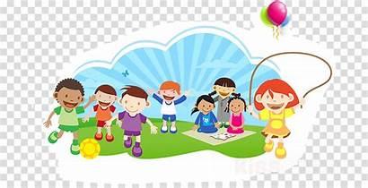 Cartoon Transparent Clipart Play Kindergarten Child Nursery