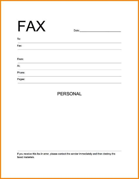 Resume Cover Page Exle by Fax Cover Sheet Template Word Letter Resume Blank Cashier