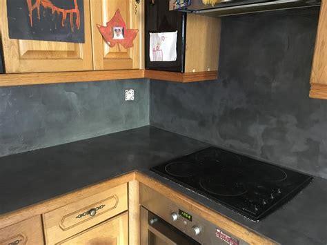 magasin cuisine plus enduit béton resinence gris carbone 4 l leroy merlin