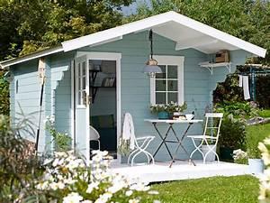 Gartenhaus Farbe Bilder : ein gartenhaus drei varianten zuhause wohnen ~ Lizthompson.info Haus und Dekorationen